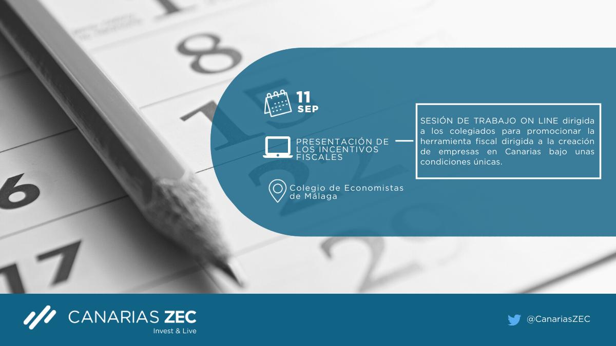 Colegio de Economistas de Malaga promoción de la ZEC