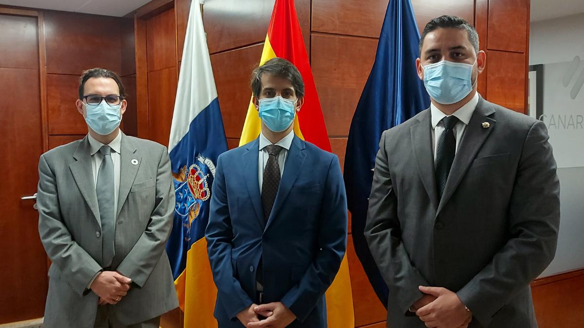 CanariasZE y el Colegio de Titulados mercantilaes