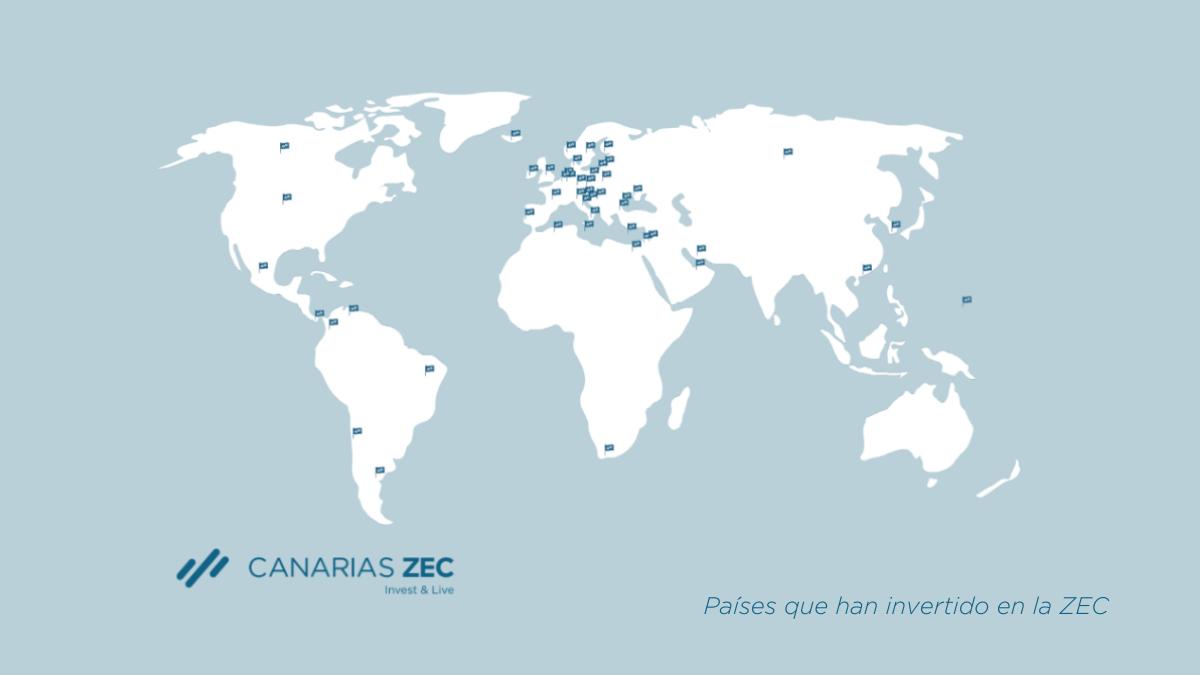 Países inversores en la ZEC