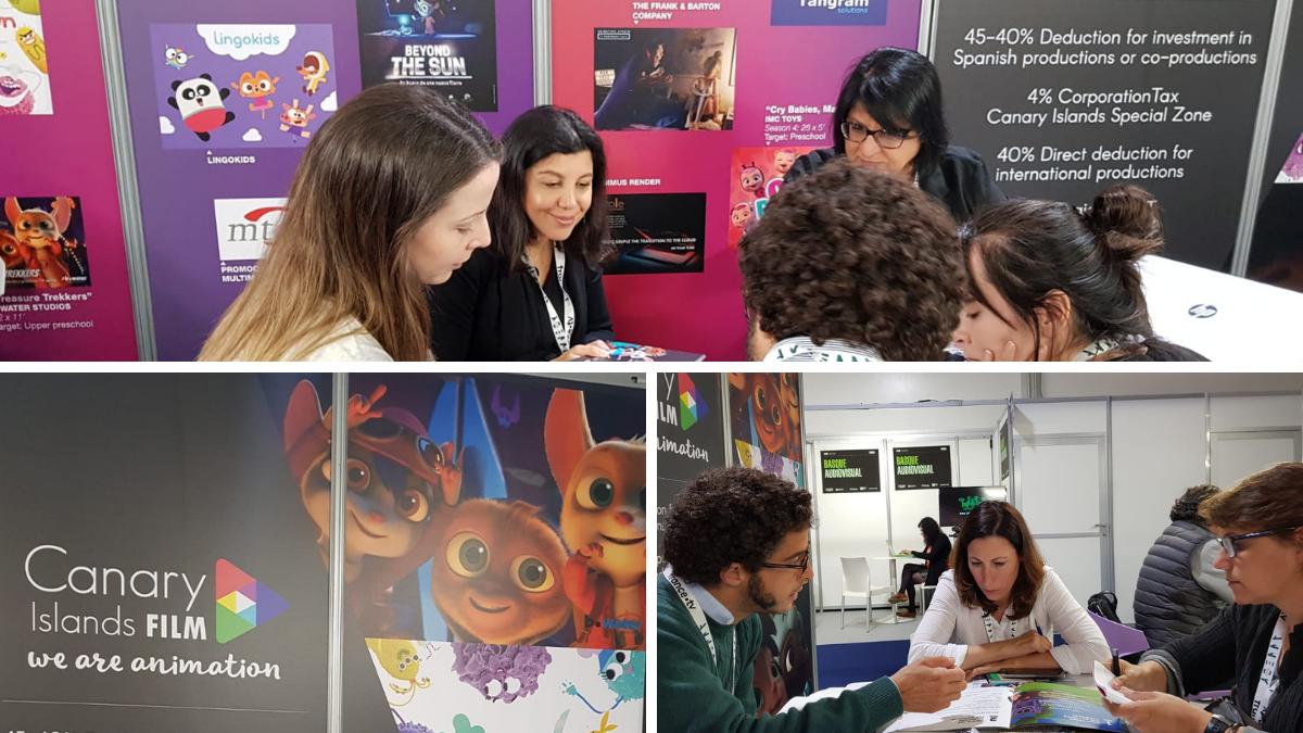 Presentación de la ZEC antes agentes de animación en Annency