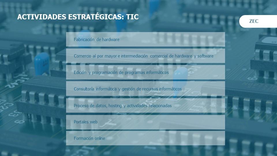 La fiscalidad de la ZEc para las empresas TIC