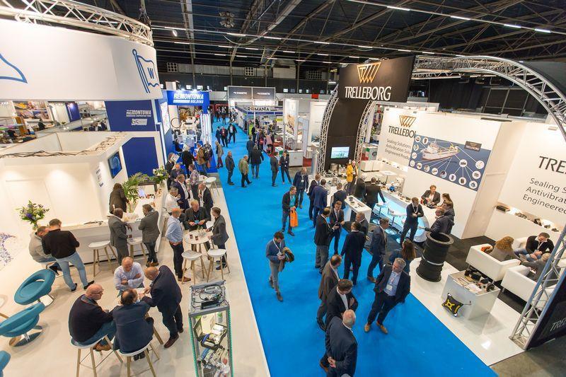 Centro de negocio relacionado con el sector maritimo Holanda
