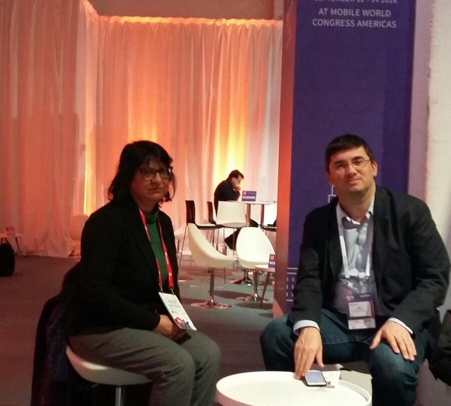 Congreso de ultimas tecnologías en Barcelona