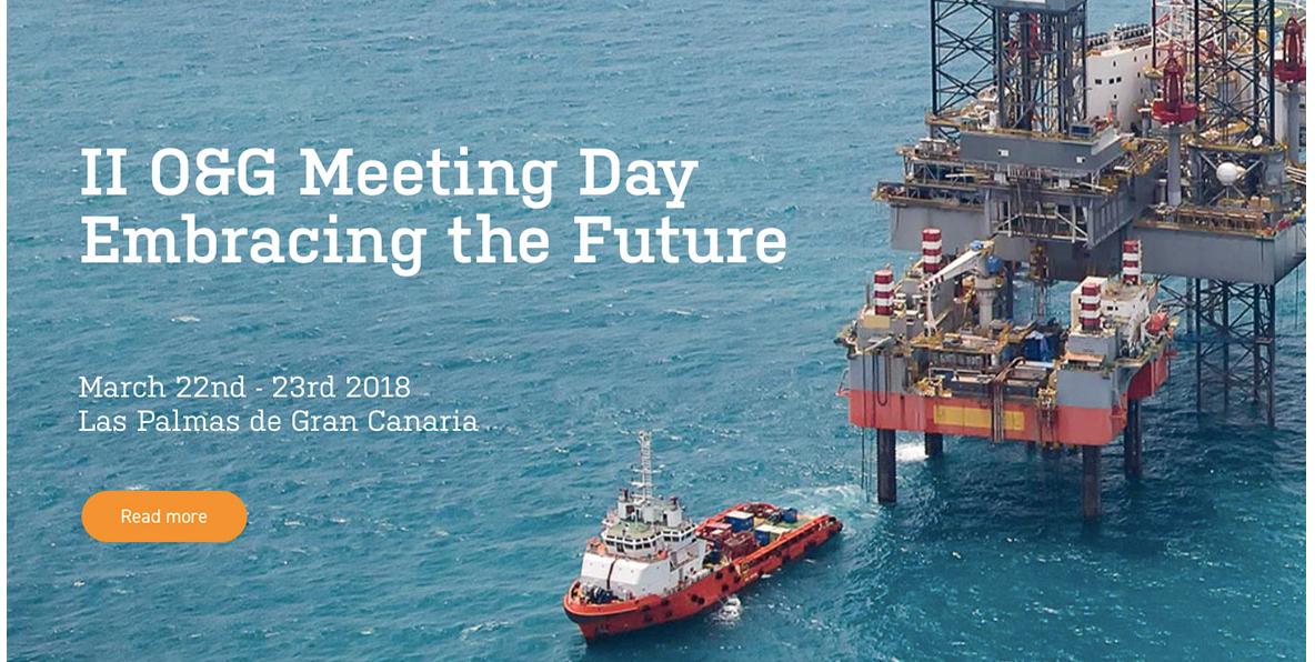 Cartel del evento II Oil and Gas