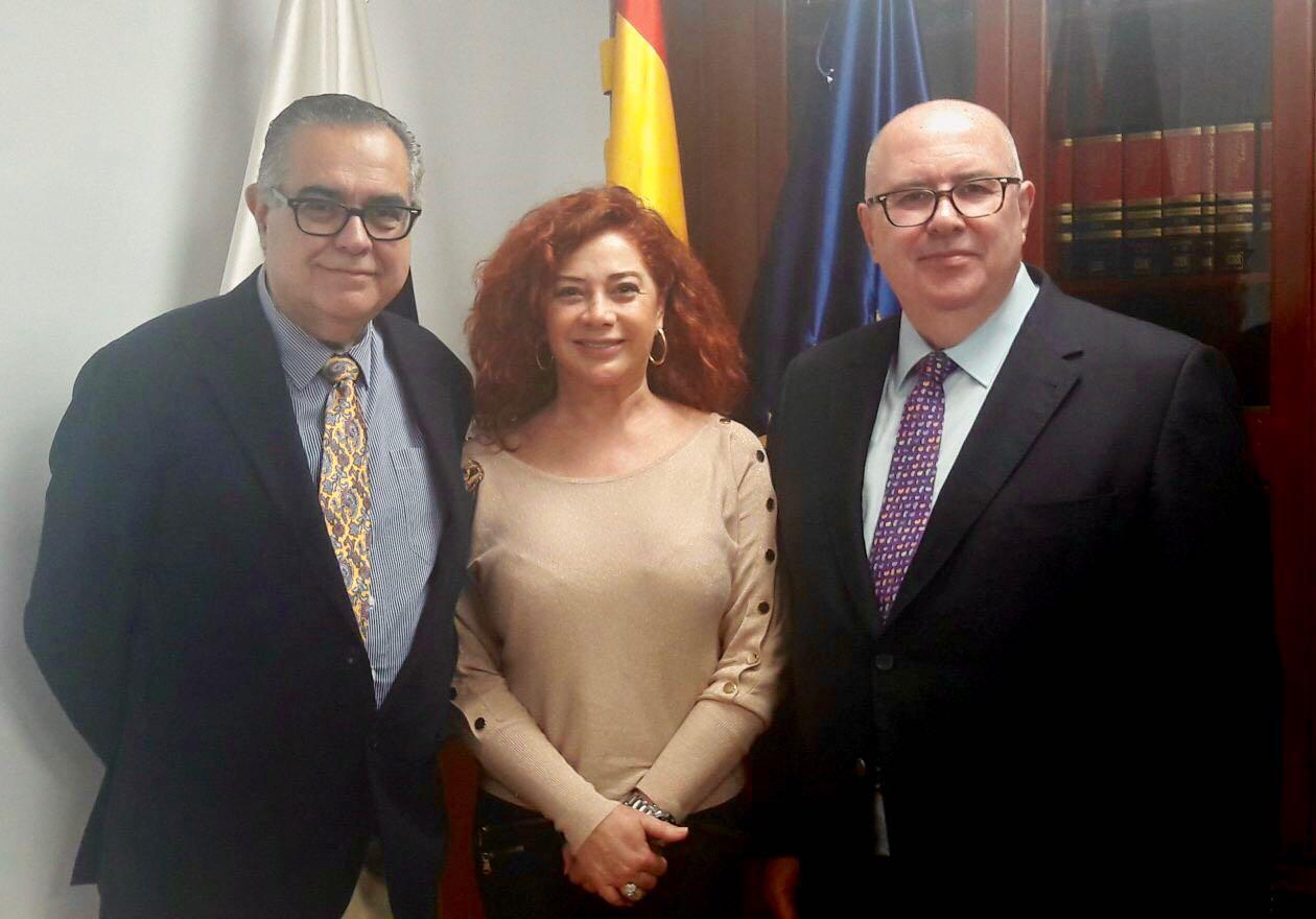 Reunión con el presidente de CEOE Tenerife
