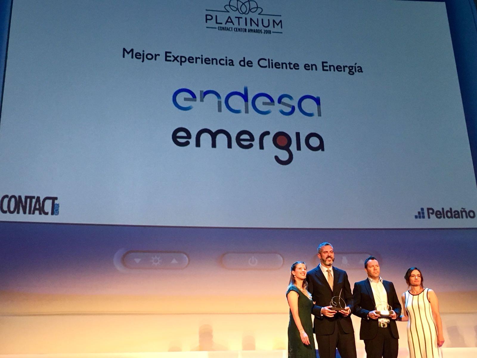 Emergia, Premio a la mejor experiencia de cliente en Energía