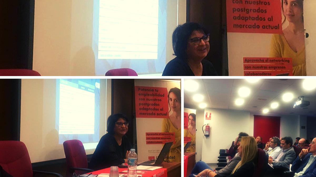 Jornada de la Universidad Europea Canaria sector audiovisual