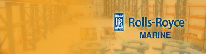 Imagen con el logo de Rolls-Royce Marine