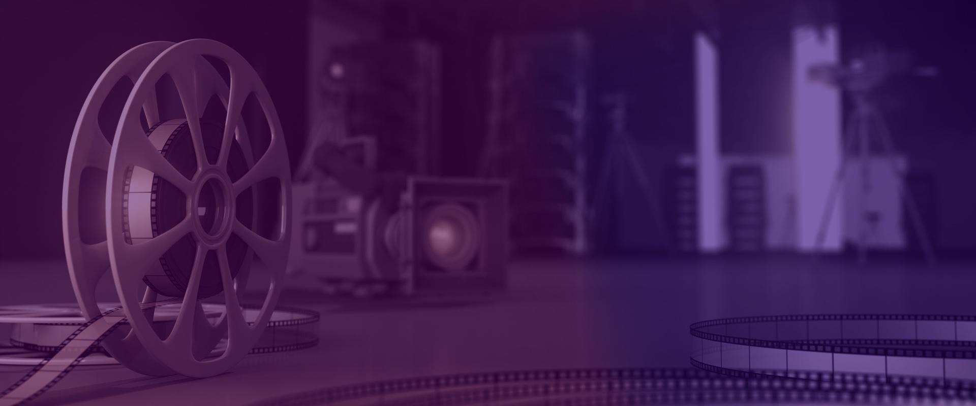 Sector audiovisual, imagen de estudio cinematográfico
