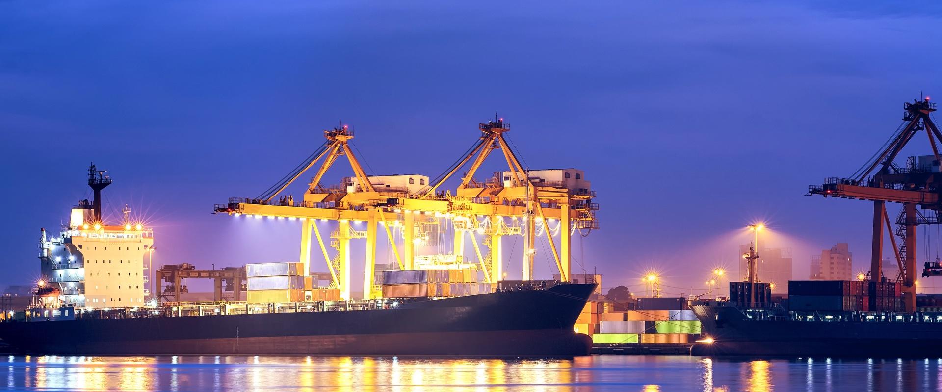 Sector marítimo, imagen de muelle