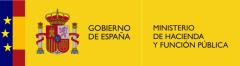 Logotipo del Ministerio de Hacienda y función pública